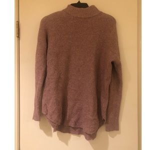 Pink American Eagle Outfitters turtleneck Sweater